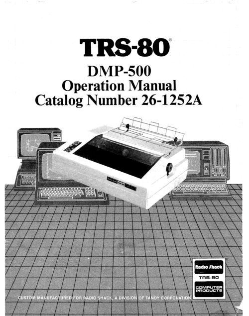 TRS-80 Manuals: Hardware Manuals – Part 2 | Ira Goldklang's